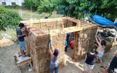 Curs de Construcció amb Bales de Palla i Revestiments d'Argila (3a Edició)